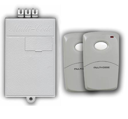 Multicode Gate Or Garage Door Opener Receiver And Remote Double Set